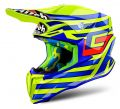 AIROH Twist Cairoli Qatar yellow gloss - XS